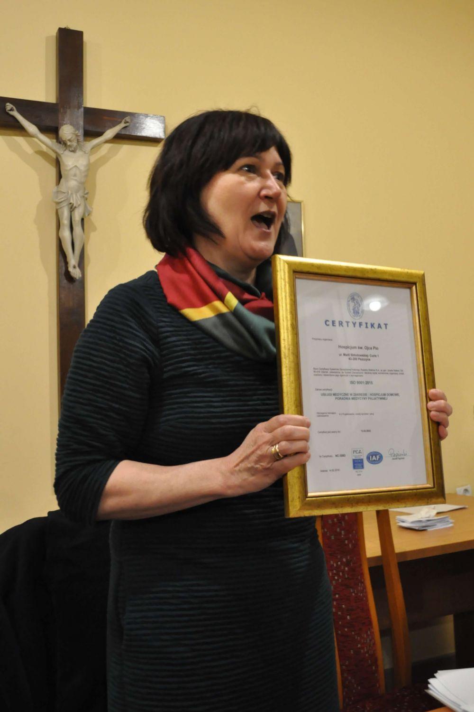 Hospicjum z certyfikatem i nowym zarządem