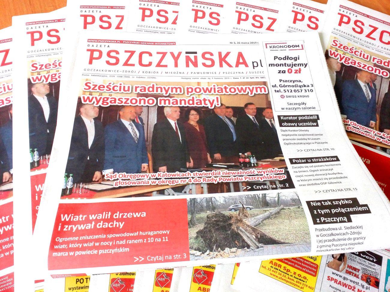 Nowy numer Gazety Pszczyńskiej: zapraszamy do lektury!