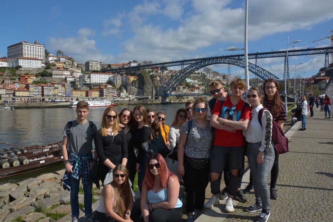 Uczniowie z PZS nr 2 na praktykach w Portugalii