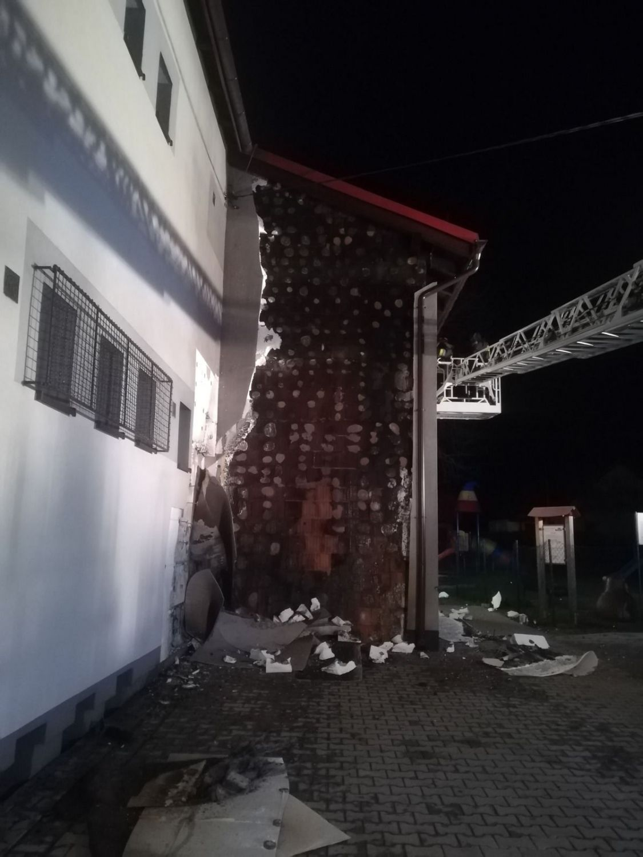 Pożar u strażaków w Gilowicach. Policja szuka świadków