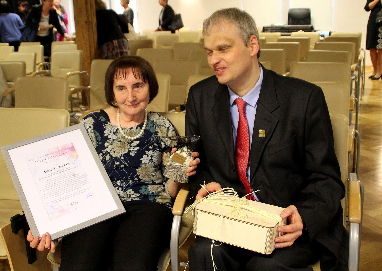 Alicja Szymczak pierwszą laureatką nagrody