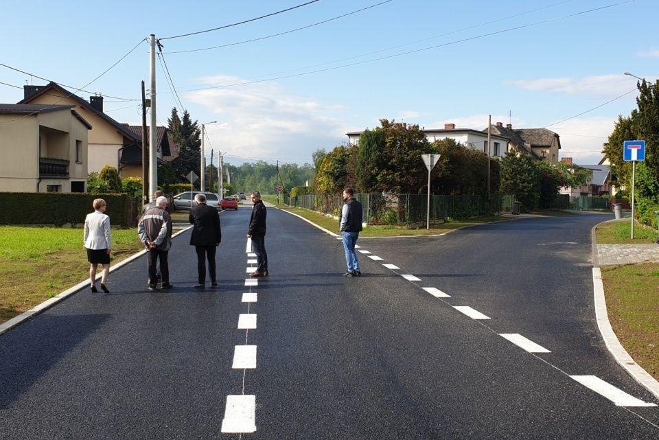 Remont ulicy Wiślnej zakończony