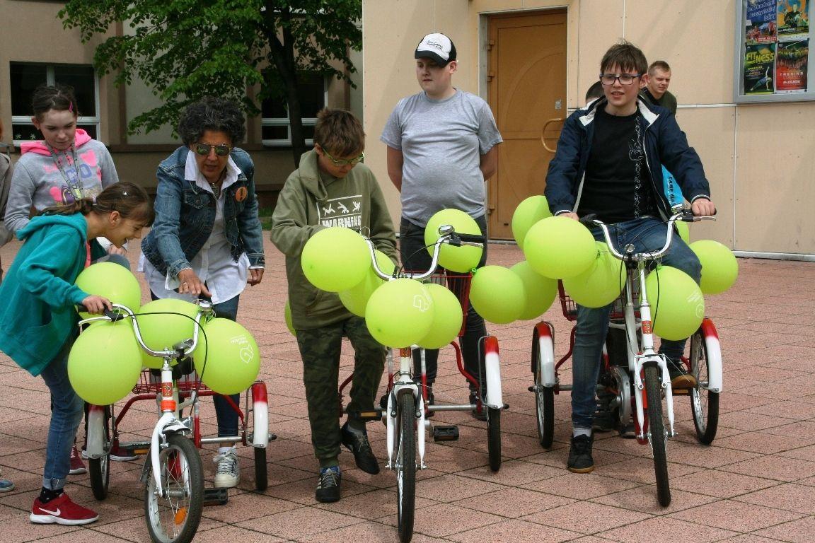 Rowery dla niepełnosprawnych do wypożyczenia w starostwie