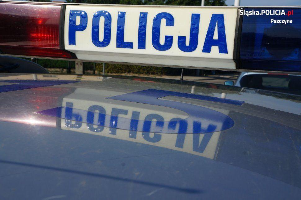 Pawłowiccy policjanci pilotowali chorego mężczyznę