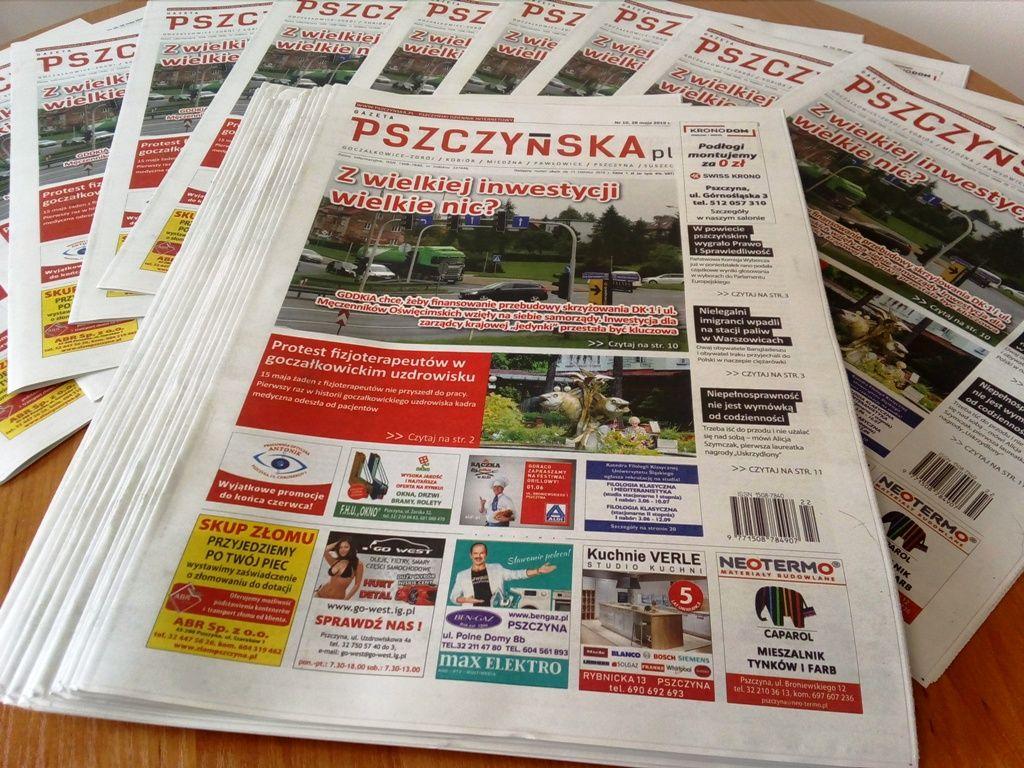 Nowy numer Gazety Pszczyńskiej już do kupienia