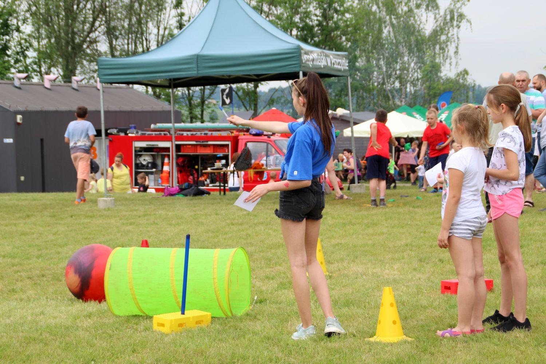 Celebracja Dnia Dziecka w Ośrodku Sportów Wodnych