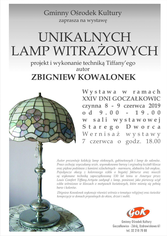 Wystawa Lamp Witrażowych