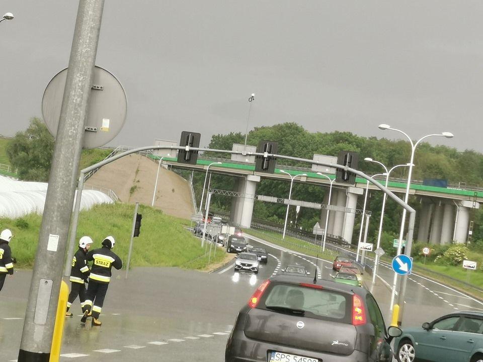 Konsekwencje nocnej ulewy widoczne szczególnie w Pawłowicach