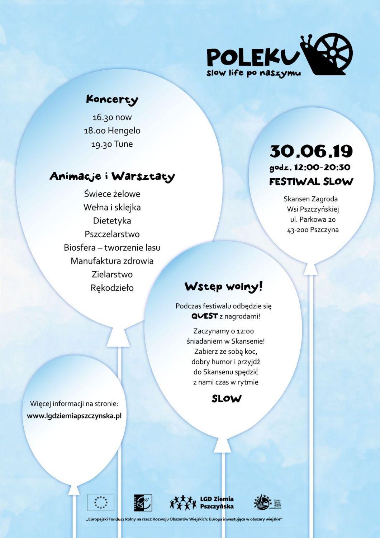 Festiwal POLEKU, czyli slow life po naszymu
