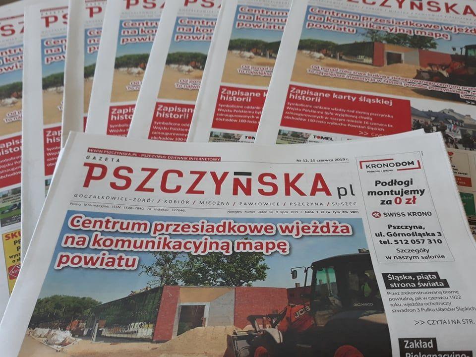 Nowy numer Gazety Pszczyńskiej już w sklepach! O czym piszemy?