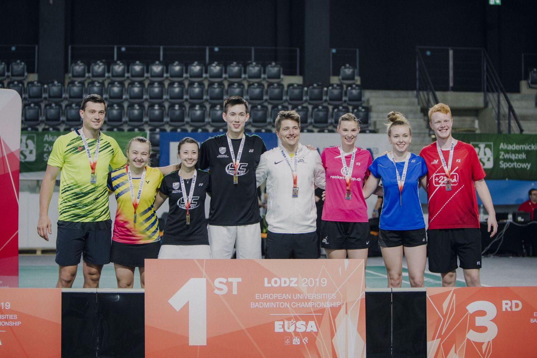 Wicemistrzostwo dla badmintonistów z Pszczyny