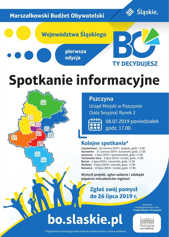 Marszałkowski Budżet Obywatelski - spotkanie informacyjne