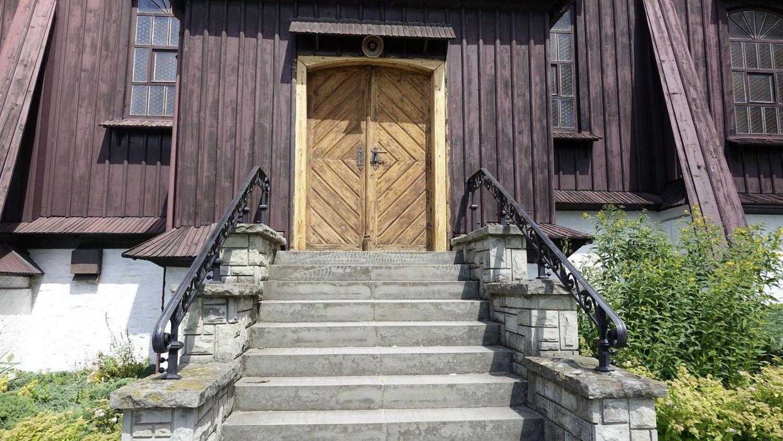 Trwa remont zabytkowego kościoła w Łące