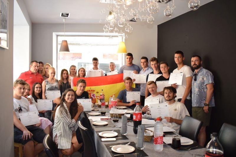 Uczniowie PZS nr 1 na stażu w Hiszpanii