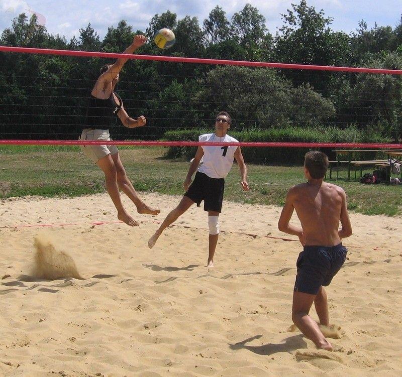 Turniej siatkówki plażowej w Goczałkowicach
