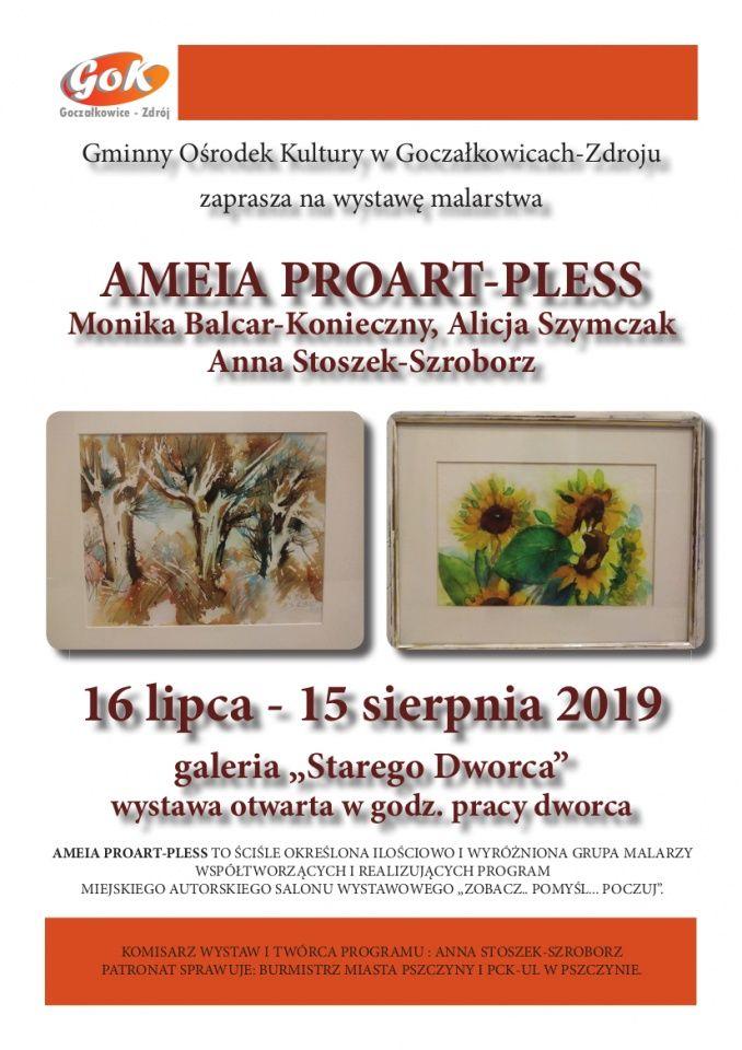 Wystawa malarska grupy Ameia Proart-Pless