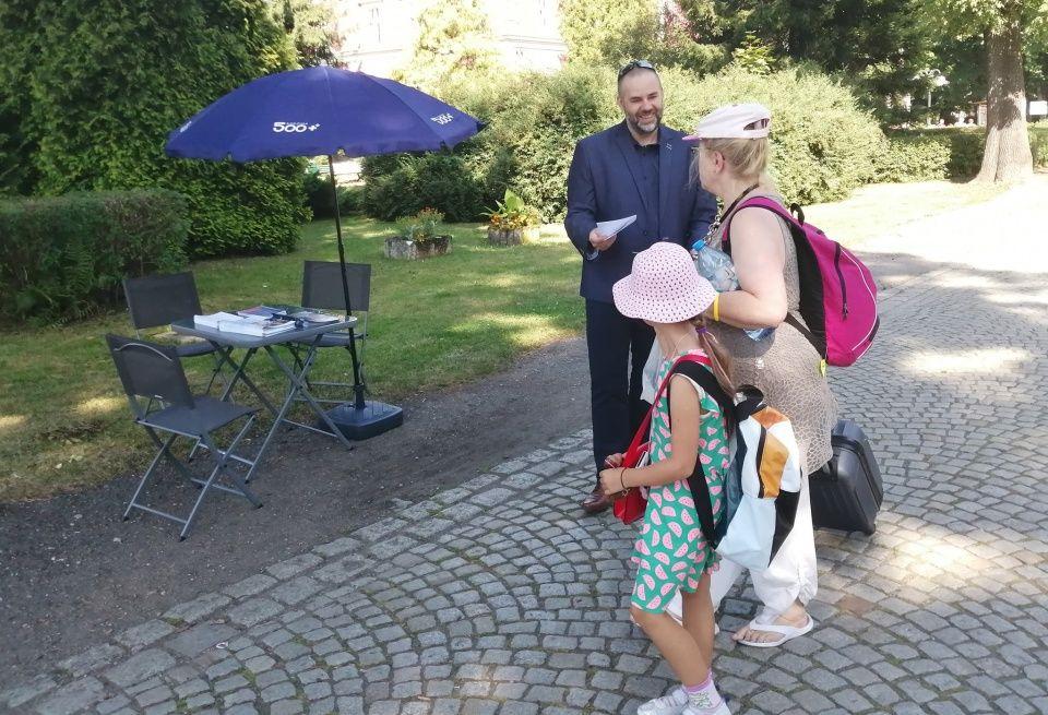 W Goczałkowicach przeprowadzono kampanię nt. programu Rodzina 500+