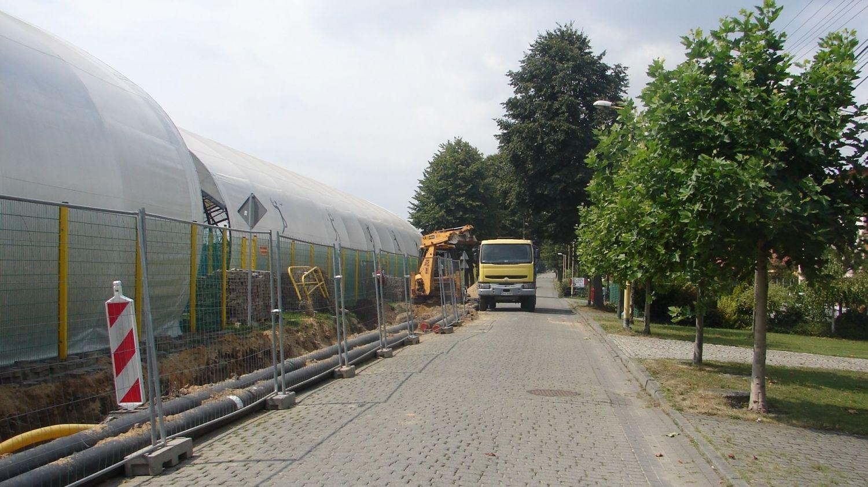 Modernizacja sieci ciepłowniczej w sołectwie Pawłowice: przerwy w dostawie ciepłej wody