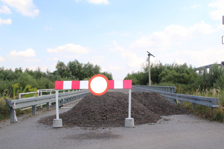 Most Bronisław wróci na dwa lata