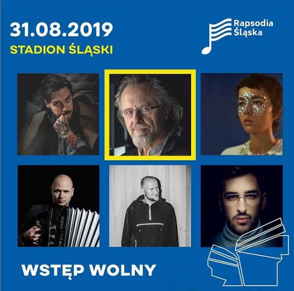 Widowisko muzyczno-multimedialne Rapsodia Śląska na Stadionie Śląskim w Chorzowie