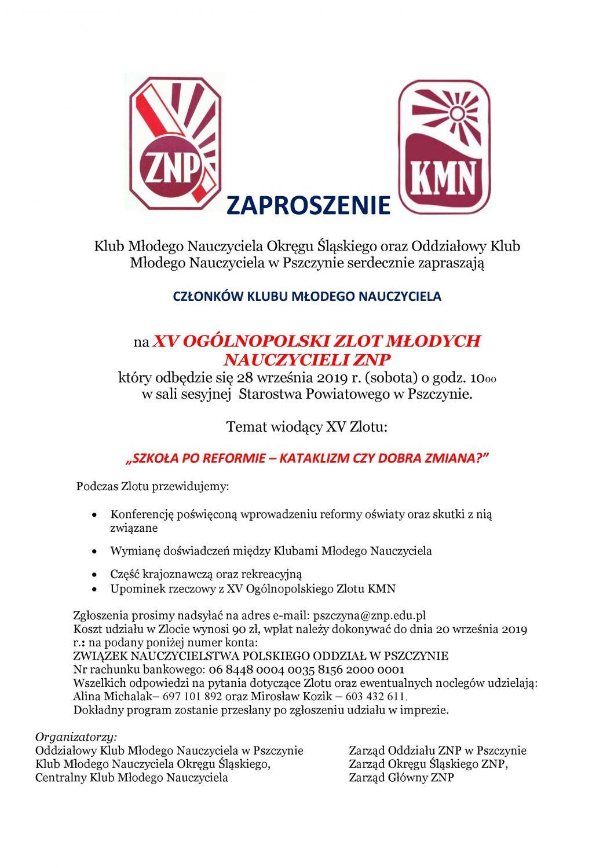 """""""Szkoła po reformie – kataklizm, czy dobra zmiana?"""" tematem Ogólnopolskiego Zlotu Nauczycieli"""