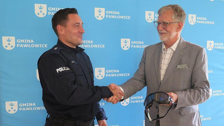 Pszczyńska policja otrzymała narkogogle