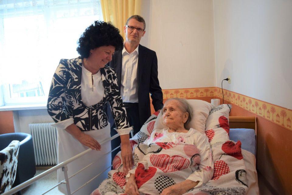 Mieszkanka Goczałkowic świętowała setne urodziny