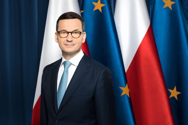 Premier Mateusz Morawiecki pojawi się dziś w Porębie