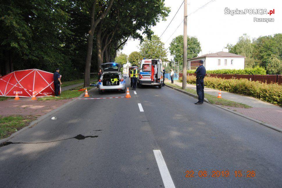 Policja szuka świadków śmiertelnego wypadku na Bieruńskiej