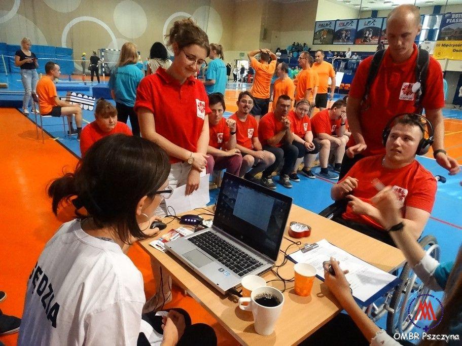 II Eliminacje Międzyośrodkowych Zawodów Sportowych Dla Osób Niepełnosprawnych w Pszczynie