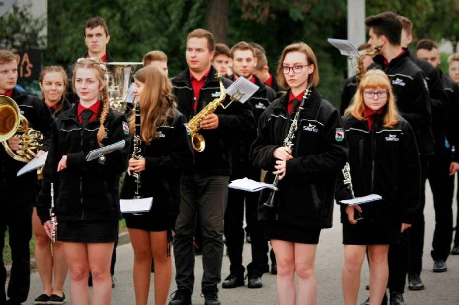 Orkiestra dęta z Woli na XVI Rychwalskich Impresjach Muzycznych