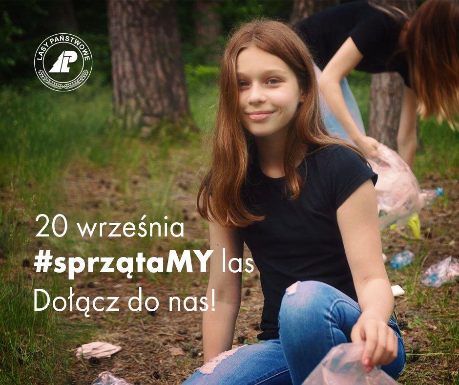 Akcja #sprzątaMY las również w kobiórskim nadleśnictwie
