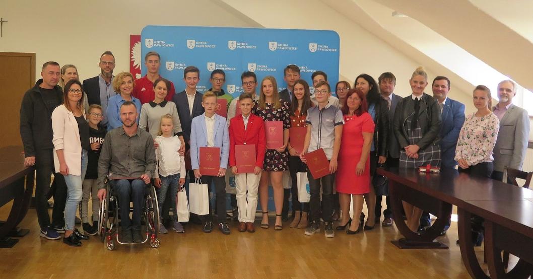 Stypendia dla najlepszych sportowców z gminy Pawłowice