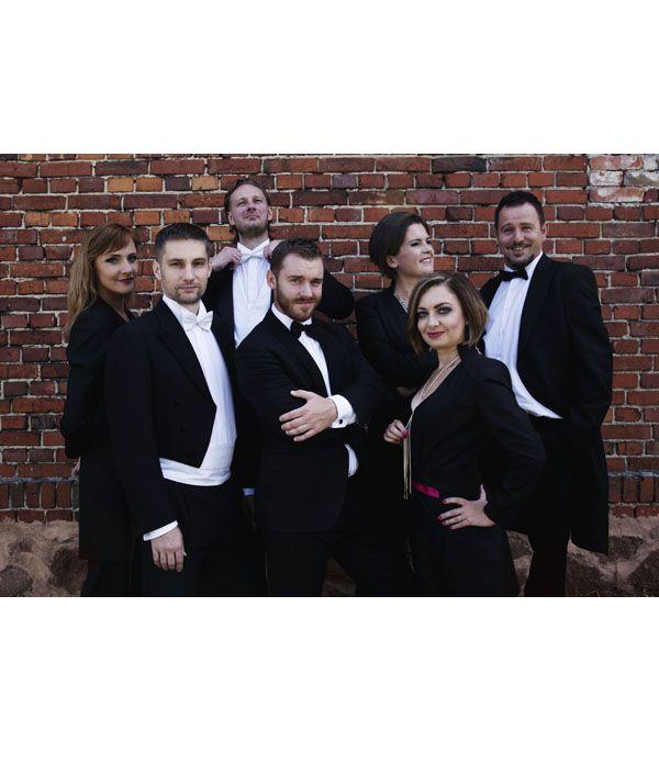 Grupa Operowa Sonori Ensemble w październiku w Pszczyńskim Centrum Kultury