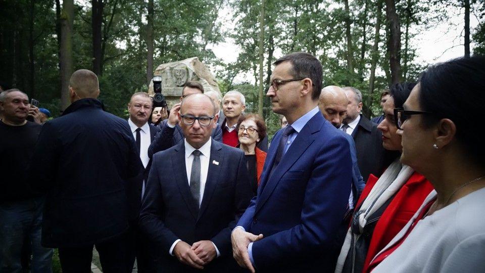 Premier Mateusz Morawiecki odwiedził dziś Pszczynę