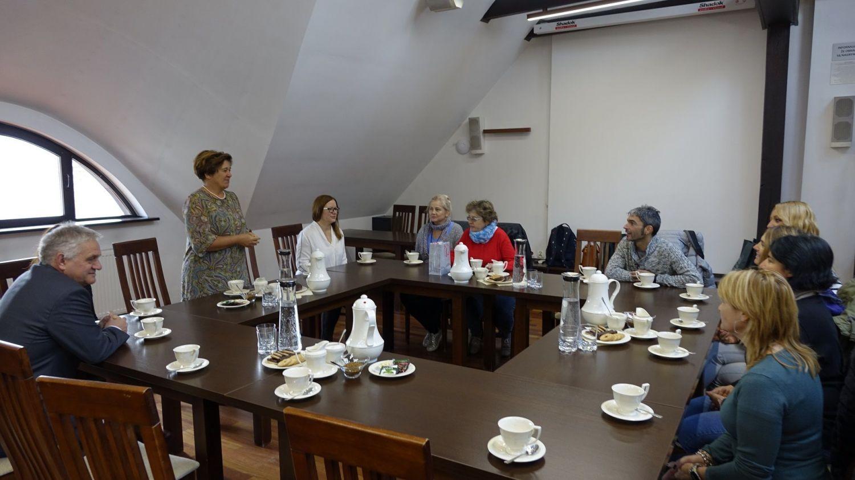 Wizyta nauczycieli z krajów partnerskich programu Erasmus