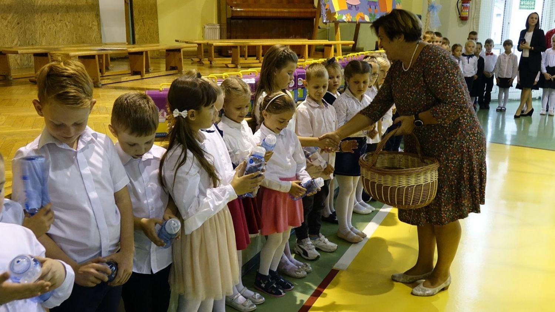 Pierwszoklasiści z Jankowic oficjalnie przyjęci do grona uczniów