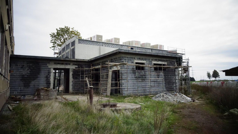 Budowa sali gimnastycznej w Porębie idzie do przodu