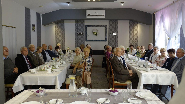 Spotkanie Jubilatów Pszczyńskiego Stowarzyszenia Emerytów i Rencistów