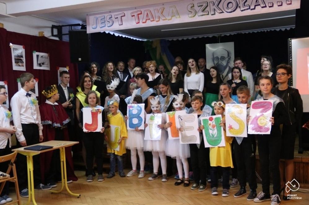 20 lat szkoły im.Janusza Korczaka w Pszczynie
