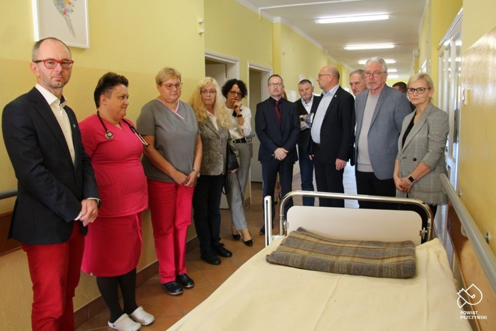 Niemieccy partnerzy wspierają pszczyński szpital