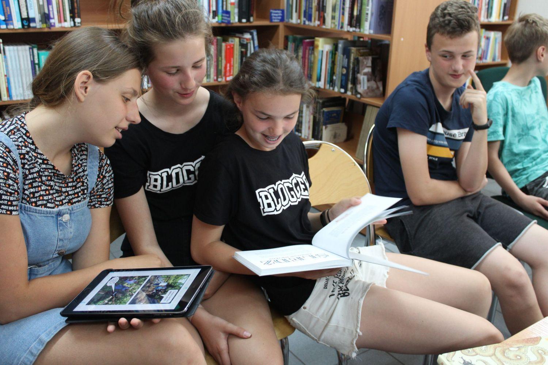 Zielona biblioteka - przygoda z książką przyrodniczą w pszczyńskiej bibliotece