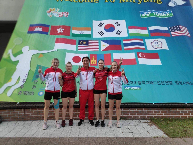 Sukcesy pszczyńskich badmintonistek. Teraz walczą w Korei Południowej