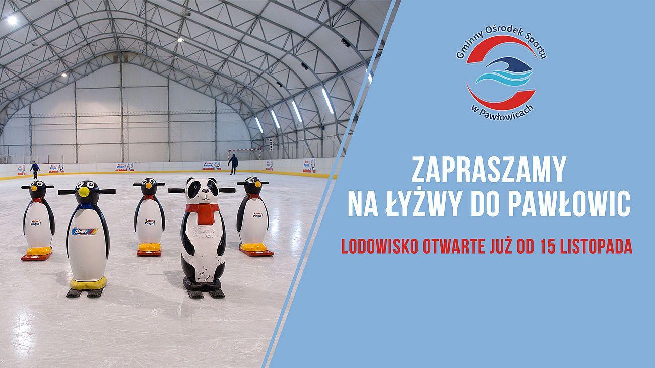 Pierwsza ślizgawka w Pawłowicach już 15 listopada!