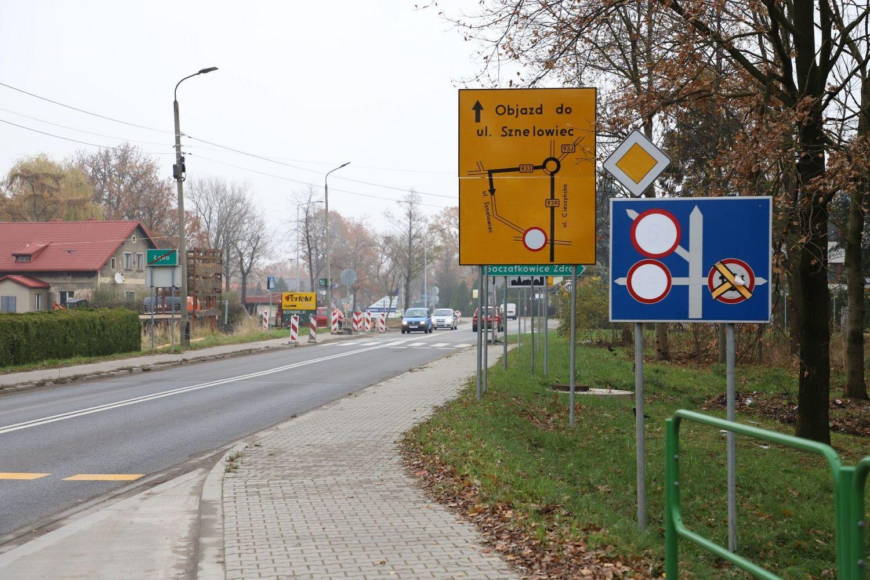 Sygnalizacja świetlna na ul. Cieszyńskiej już od czwartku 21 listopada