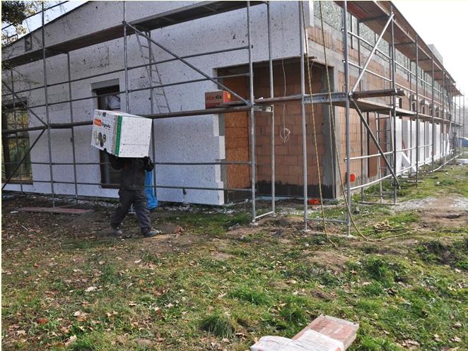 Budowa Domu Ojca Pio idzie do przodu [ZDJĘCIA]