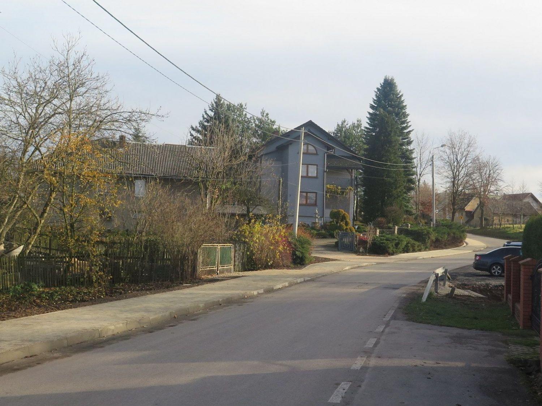 Chodnik wzdłuż ul. Wiejskiej oficjalnie oddany do użytku