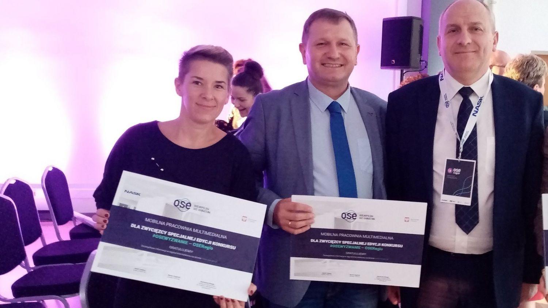 Szkoły z Golasowic i Pielgrzymowic wygrały mobilne pracownie