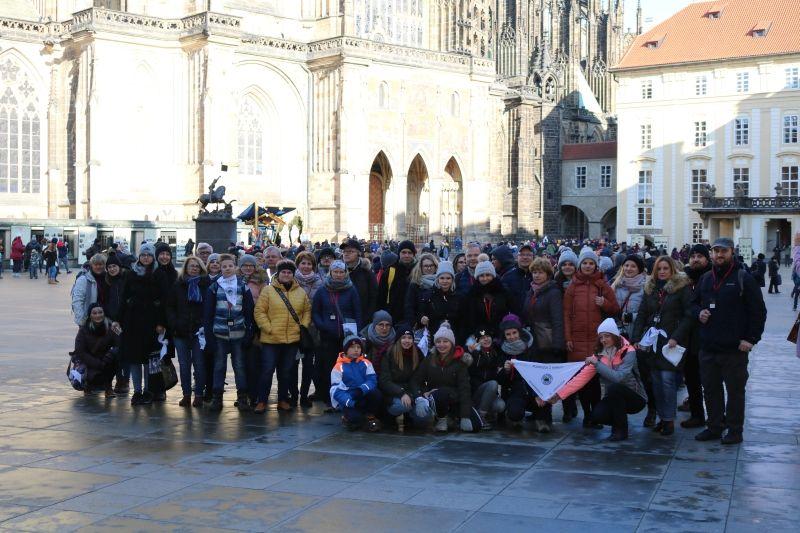 Diablak odwiedził Pragę