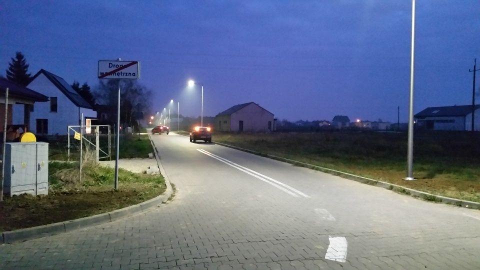 Mieszkańcy Rzemieślniczej doczekali się nowego oświetlenia